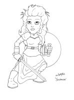 Shieldmaiden by Shapshizzle