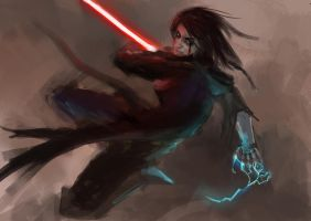 Sith speedpainting by artofrussell