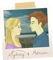 Sydney Sage and Adrian Ivashkov by SwagSagwa