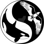 Eagle and Orca Pendant Design by KeikoGirl21588