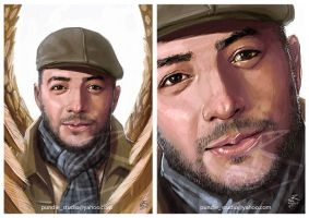 Maher Zain cover art by 2d-artist