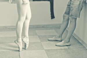 ballet coquetry by LadyMartist