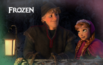 Anna And Kristoff Wallpaper by Miss-Ellanius