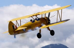 Stearman 75 Takeoff by shelbs2