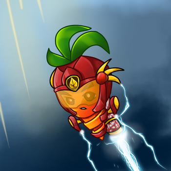 pvz2 / pvzheroes: intensive carrot by goodpea2