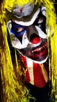 Creepy Clown Makeup by CoraBime