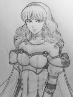 Fire Emblem Echoes: Celica by JainaNaberrie