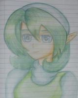 Legend of Zelda: Saria by ArtySpartyGirl