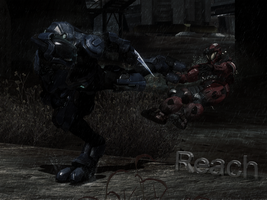 Halo Reach: Assesination by ShadowMaster29