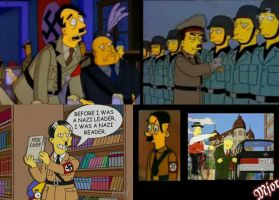 The Simpsons: Hitler by mjor
