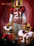 Sean Taylor by Esau13