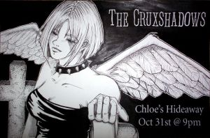 The Cruxshadows - band poster by lavi