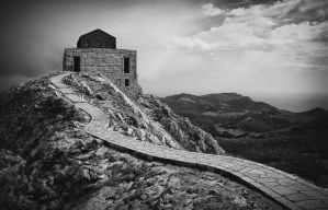 Lovcen mountain by obeliks7