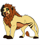 Male Lion Adoptable 11 [OTA][CLOSED] by horse-power