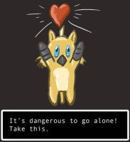 Dangerous to go Alone by Eltharion