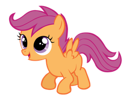 Scootaloo Vector by TryHardBrony