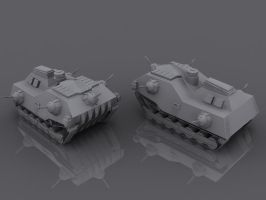 3D Work - Vehicles by tomkpunkt