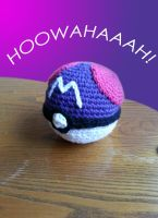 Crochet Master Ball by LimpingGnome