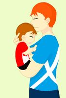 CSF HM Scotland and baby Canada by ABtheButterfly