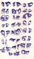 Disney Cast Eyes by Hannara459