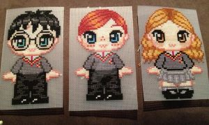 Adorable Harry, Ron and Hermione by ReeRee6924