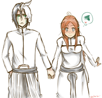 Day 1 - UlquiHime OTP Challenge - Holding Hands by keitoz