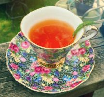 A Morning Cup of Tea by GillyLicious