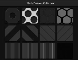 12 Free Dark Patterns by Serphyroth