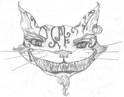 American McGee's Cheshire Cat by LaMasqueDuMinet