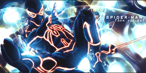 Spiderman - Tron Variant by Dhencod