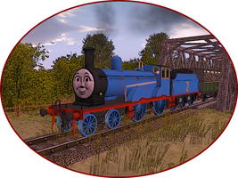 Railway Series Portraits - Edward by wildnorwester