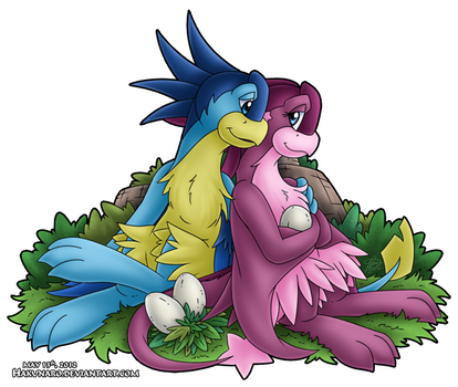 Soon to be Parents by Hakunaro
