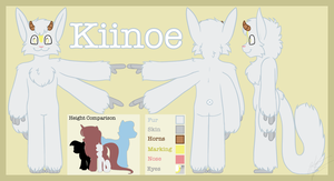 Kiinoe: Reference Sheet by Pokemon-Chick-1