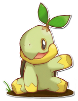 387 Turtwig by TrinityWolfDragon