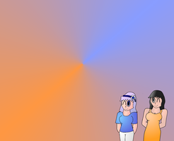 Sisters Wallpaper by Planet-i-Studios