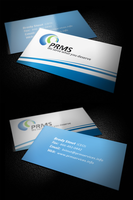 PRMS Visiting Card by ahsanpervaiz