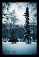 Winter Scene by TwiggyTeeluck