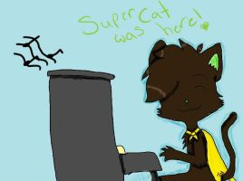 AT: SUPERCAT.DAT SOLO. by Animelgirl1981