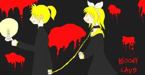 Vocaloid_Bloody cave by HaraNatsumi