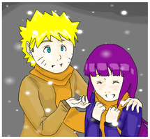 Glancing at the snowflakes by Artict