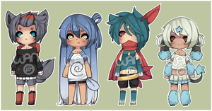Pokegijinka Adopts 006 [SOLD] by WanNyan