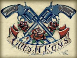 Guns 'n' Roses by davepinsker