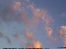 cotton candy clouds by Ferret-Luver-Girl