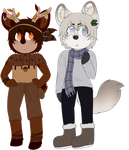 Season Adopts 2 Fall and Winter 1/2 Open by VarroxAdopts