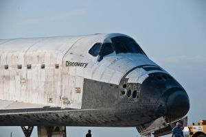 STS-133 Discovery Tow Back 4 by hansepe