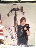Norman Reedus' Autograph by Aerrows-Girl