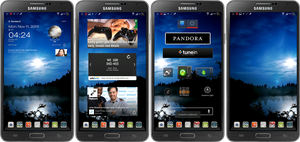 Galaxy Note3 N9005 Black LTE by kingwicked