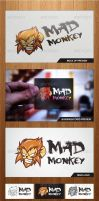 Mad Monkey Logo Template - Graphicriver by Changyik