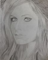 avril lavigne by doodlingsketch
