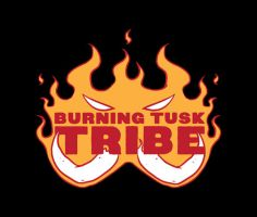 Burning Tusk Tribe by Karbacca